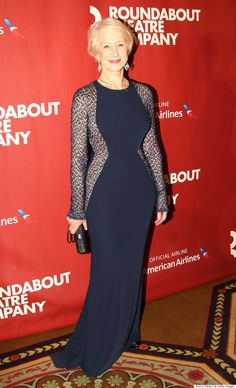 Honoree Dame Helen Mirren poses at The Roundabout Theatre Company s. News  Photo 4405865e548e