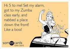 #Zumba Funny #quote redwards.zumba.com & www.fb.com/ZumbaFitnessWithBecky