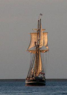 Love old sailing ships.
