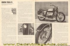 1972 BMW R60/5 Road Test - A beautifully engineered (if not exactly beautiful) traveling man's machine.