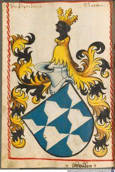 Scheibler'sches Wappenbuch Süddeutschland, um 1450 - 17. Jh. Cod.icon. 312 c  Folio 160