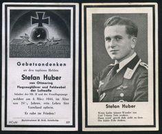 orig. WK2 STERBEBILD - DEATH CARD - PILOT - LUFTWAFFE - ORDEN - FRONTFLUGSPANGE