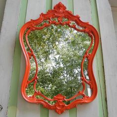 Guaranteed Focal Point!  Vintage Wall Mirror Ornate Syroco Upcycled in by GloryBDesign, $169.00
