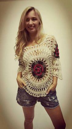 María Cielo: Vars: sweaters de verano crochet