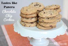 Jenna's Journey: Tastes like Panera Chocolate Chip Cookies