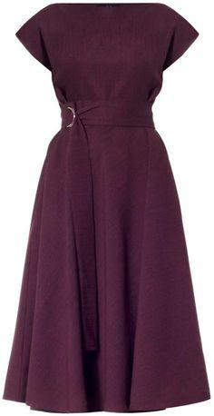 Stine Plum Midi Dress by Meem Label - Meem Label Stine Plum Midi Dress Source by - Dressy Dresses, Lovely Dresses, Blue Dresses, Church Dresses For Women, Looks Chic, African Dress, Dusty Blue, New Dress, Designer Dresses