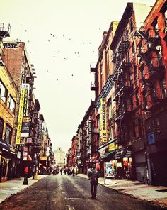 Sunday Morning on Orchard Street - Lower East Side - New York City by Vivienne Gucwa, via Flickr
