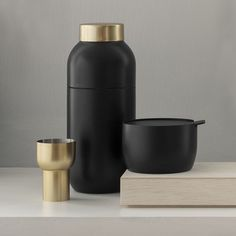 top3 by design - Stelton - stelton collar cocktail shaker