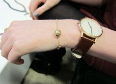 watch and the jingle bell bracelet