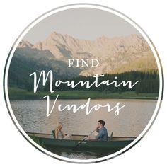 Find Mountain Wedding Vendors
