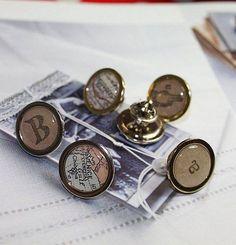 Letter Pin Badges