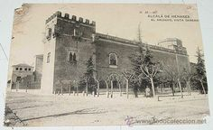 ANTIGUA POSTAL DE ALCALA DE HENARES - MADRID - EL ARCHIVO, VISTA GENERAL - ED. HAUSER Y MENET - NO C (Postales - España - Comunidad de Madrid Antigua (hasta 1939) - Madrid Provincia)