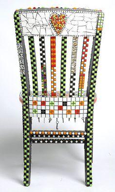 """Sweetie Chair"" Reverse by Flair Robinson Studio, via Flickr"