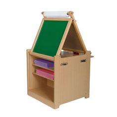 "Guidecraft Desk to Easel Art Center - Guidecraft - Toys ""R"" Us"