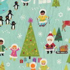 All Christmas fabrics SALE! #Christmas #CyberMonday #BlackFriday #Sale #Fabric #Quilt