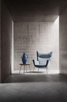 The Wing Chair. Designed by Hans J. Wegner in 1960 #carlhansenandson - http://www.cimmermann.uk/shop-by-brand/carl-hansen-son.html