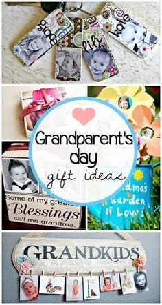 Creative Grandparent's Day Gifts for kids to make! #Grandma/grandpa gift ideas | CraftyMorning.com