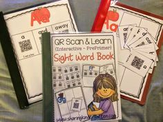 QR Codes to create a sight word book