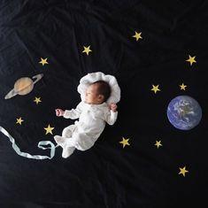 かわいいアイデア満載! 赤ちゃんの「寝相アート」25選 - ViRATES [バイレーツ]
