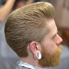 Flat Top Pompadour For Thick Hair
