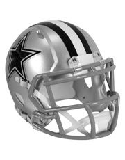 Casco Mini Riddell NFL Speed Dallas Cowboys