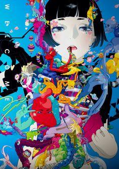 Hiroyuki Takahashi - Japan pop art