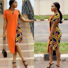 Trendy Ankara Styles For 2019 Ankara Dress Styles, Trendy Ankara Styles, African Print Dresses, African Dress, African Fashion Ankara, African Inspired Fashion, African Print Fashion, Africa Fashion, African Attire