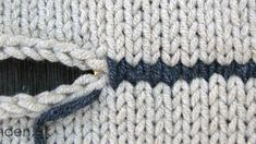 hvid, for at det er nemmere… Chrochet, Knit Crochet, Hand Knitting, Knitting Patterns, Darning, Refashion, Diy Clothes, Drops Design, Stitch