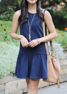 What to Wear with a Dropwaist Dress