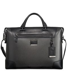 Ch 18 Christian's Leather slim brief case from Ana