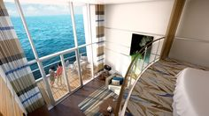 New loft staterooms on the #QuantumOfTheSeas. @royal Caribbean International