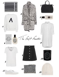 THE CHRISTMAS GIFT GUIDES | Everything for the 'Black & White Lover' is up on www.thedashingrider.com #giftguide #christmas