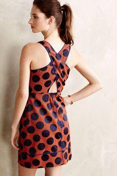 Polka dotted Rokin Dress Maeve #Anthropologie