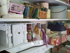 RedwoodMountainMusings: white Victorian mail organizer (and also, keeping it real!)
