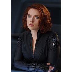 Black Widow found on Polyvore featuring polyvore, avengers, marvel, people, natasha romanoff and black widow