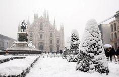 Winter, inverno 2012 - Duomo di Milano