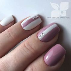 25 Amazing Winter Nail Colors which Blend with the Color of Snow Classy Nails, Stylish Nails, Cute Nails, Pretty Nails, Perfect Nails, Gorgeous Nails, Hair And Nails, My Nails, Nail Manicure