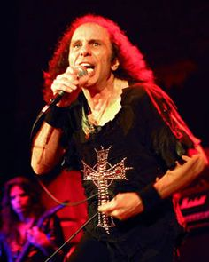 Ronnie James Dio..R.I.P. Possessed a massive voice in a surprisingly small frame. One of rock's surprising personalities off-stage where he displayed a more refined and gentlemanly intellect, taste and pursuits than many would anticipate.