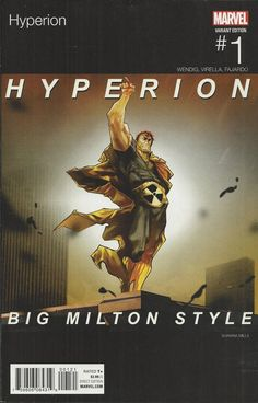 Marvel Hyperion comic issue 1 Limited Hip Hop variant