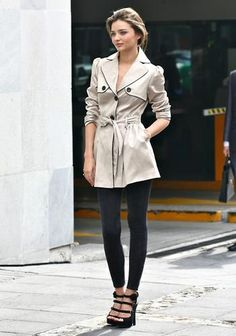 Trench coat...really cute