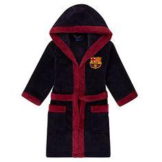 FC Barcelona Official Gift Boys Varsity Baseball Jacket 10-11 Years LB