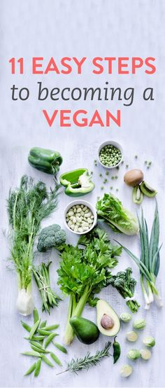 How to go vegan in 11 easy steps