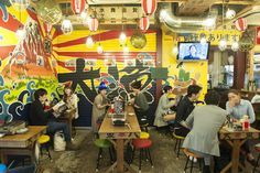 Local flavor: Izakaya eating. Tokyo locals love dropping into the small izakayas that snuggle into larger-than-life Shibuya.