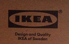 They don't come any more #bold than the @IKEA #logo. Great #typography   via @Mr_Grigio