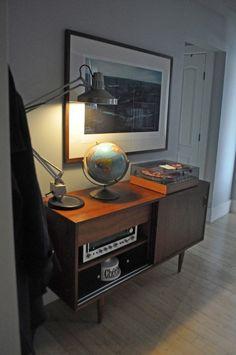 Bryan & Sarah's Vintage Modern Home & Studio House Tour | Apartment Therapy