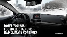 Don't you wish football stadiums had climate control?