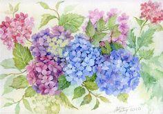 Коллекция картинок: Anne Marie Patry-Belluteau_ Акварели