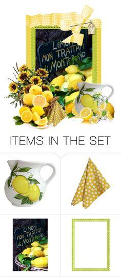 """Lemon Art"" by flowerchild805 ❤ liked on Polyvore featuring art"