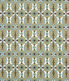 OnlineFabricStore offers Premier Prints designer fabric collection. This one is Elizabeth Chocolate/Natural