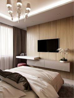 96 fabulous modern minimalist bedroom furniture - Home Sweet Tv In Bedroom, Master Bedroom Design, Bedroom Decor, Bedroom Ideas, Bedrooms, Bedroom Tv Unit Design, Bedroom Small, Bedroom Colors, Bedroom Designs